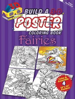 Build a 3-D Poster Coloring Book - Fairies by Jan Sovak
