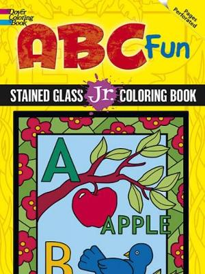 ABC Fun Stained Glass Jr. Coloring Book by Levin