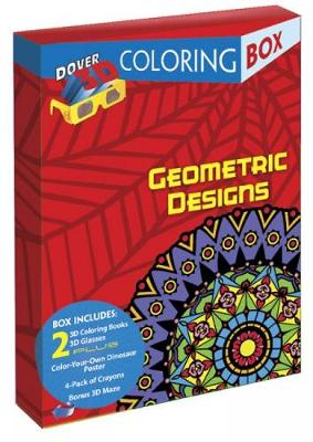 Geometric Designs 3-D Coloring Box by Dover