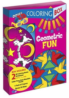 Geometric Fun 3-D Coloring Box by Dover