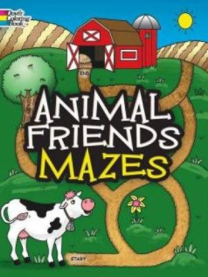 Animal Friends Mazes by Fran Newman-D'Amico