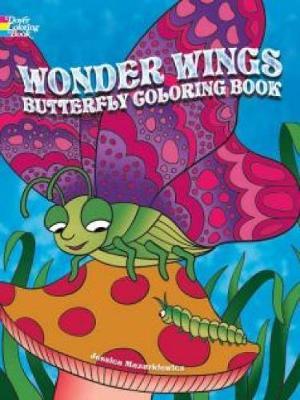 Wonder Wings Butterfly Coloring Book by Jessica Mazurkiewicz