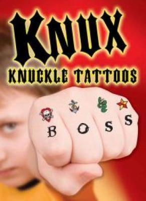 KNUX -- Knuckle Tattoos for Boys by Dover