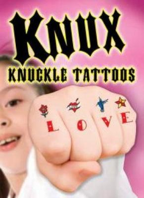 KNUX -- Knuckle Tattoos for Girls by Dover