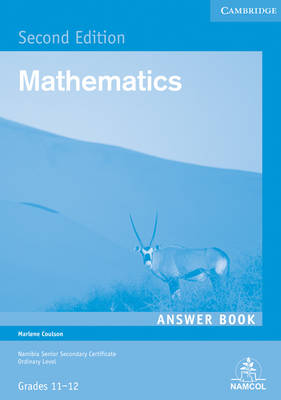 NSSC Mathematics Student's Answer Book by Marlene Coulson