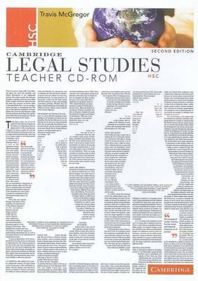 Cambridge HSC Legal Studies Second Edition Teacher CD-Rom by Travis McGregor