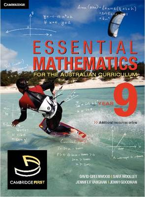 Essential Mathematics for the Australian Curriculum Year 9 by David Greenwood, Sara Wooley, Jennifer Vaughan, Franca Frank