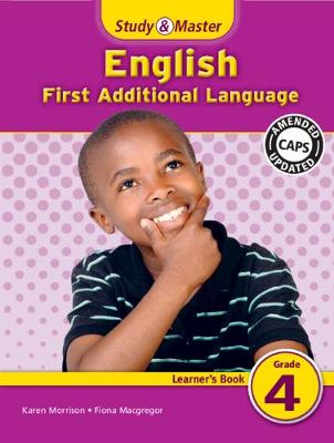 Study & Master English First Additional Language Learner's Book Learner's Book by