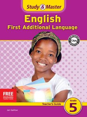 Study and Master English Grade 5 Teacher's File by