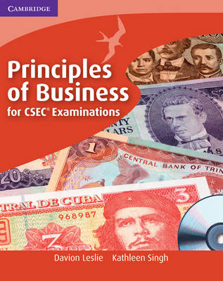 Principles of Business for CSEC Examinations Coursebook with CD-ROM by Davion Leslie, Kathleen Singh