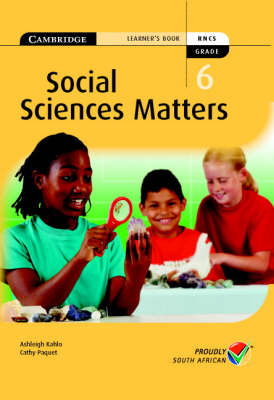 Social Science Matters Grade 6 Learner's Book by Susan Heese, Cathy Paquet