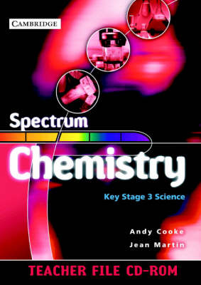 Spectrum Chemistry Teacher File CD-ROM by Andy Cooke, Jean Martin
