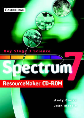 Spectrum Year 7 Teacher's File ResourceMaker CD-ROM by Andy Cooke, Jean Martin