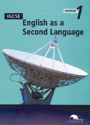 IGCSE English as a Second Language Module 1 (Trial Edition) by University of Cambridge Local Examinations Syndicate