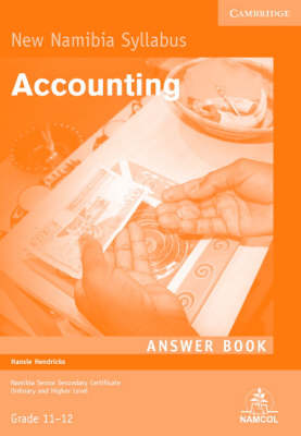 NSSC Accounting Student's Answer Book by Hansie Hendricks