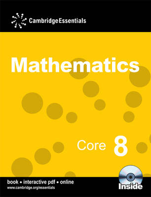 Cambridge Essentials Mathematics Core 8 Pupil's Book by Fiona McGill, Mary Nathan, Ricardo Pimental