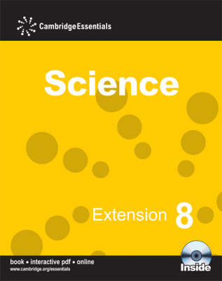 Cambridge Essentials Science Extension 8 with CD-ROM by Andy Cooke, Sam Ellis, Jean Martin