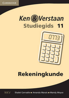 Study and Master Accounting Grade 11 Study Guide Afrikaans Translation by Elsabe Conradie, Amanda Marais, Mandy Moyce