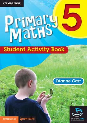 Primary Maths 5 Student Activity Book by Dianne Carr