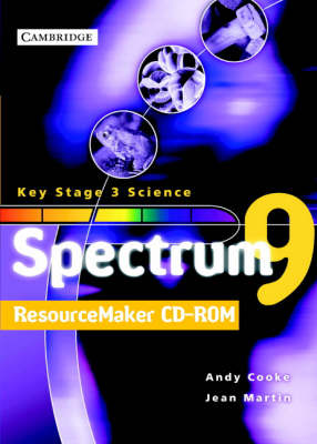 Spectrum Teacher File and ResourceMaker Year 9 CD-ROM by Andy Cooke, Jean Martin
