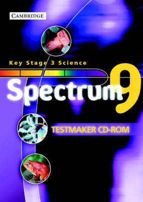 Spectrum Year 9 Testmaker Assessment CD-ROM by Andy Cooke, Jean Martin