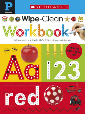 Scholastic Early Learners: Wipe Clean Workbook (Pre-School) by Make Believe Ideas