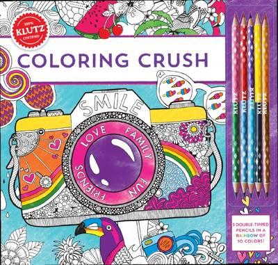 Coloring Crush by Editors of Klutz