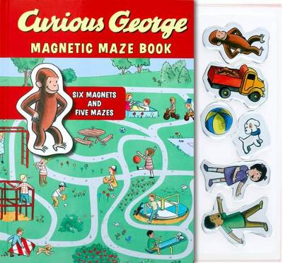 Curious George Magnetic Maze Book by H. A. Rey