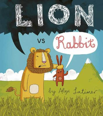 Lion vs Rabbit by Alex Latimer