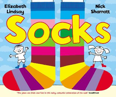 Socks by Nick Sharratt, Elizabeth Lindsay
