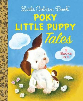 Little Golden Book Poky Little Puppy Tales by Janette Sebring Lowrey, Gustaf Tenggren