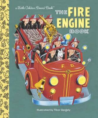 Fire Engine Book by Tibor Gergely, Golden Books