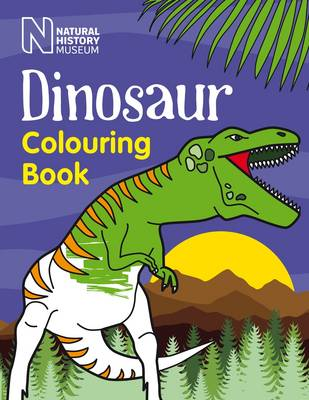 Dinosaur Colouring Book by Natural History Museum