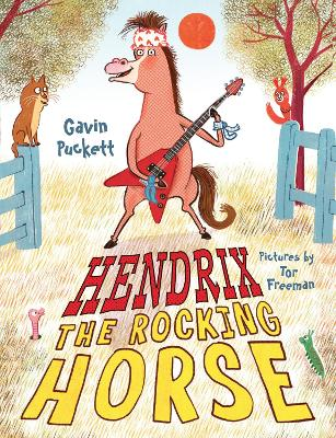 Hendrix the Rocking Horse by Gavin Puckett