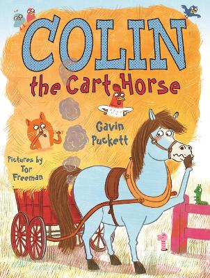 Colin the Cart Horse by Gavin Puckett