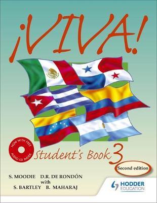 Viva Student's Book 3 with Audio CD by Sylvia Moodie, Derrunay R. Rondon, Bedoor Maharaj, Sylvia Kublalsingh