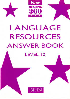 New Reading 360 Level 10: Language Resource Answer Book by