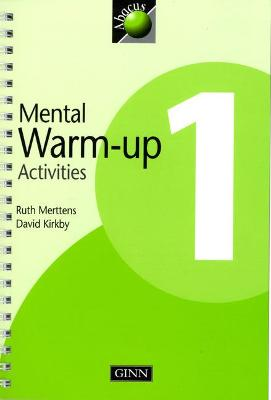 1999 Abacus Year 1 / P2: Warm-Up Activities Book by