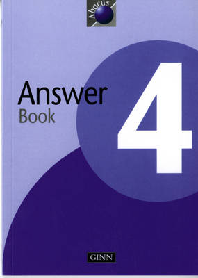 1999 Abacus Year 4 / P5: Answer Book by