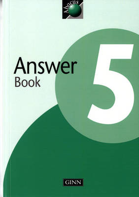 1999 Abacus Year 5 / P6: Answer Book by