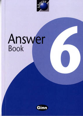 1999 Abacus Year 6 / P7: Answer Book by