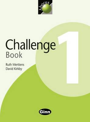 1999 Abacus Year 1 / P2: Challenge Book by