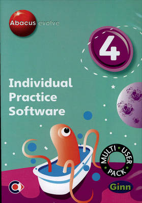 Abacus Evolve (non-UK) Year 4: Individual Practice Software Multi-User Disk by