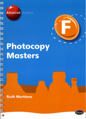 Abacus Evolve Foundation: Photocopy Masters by