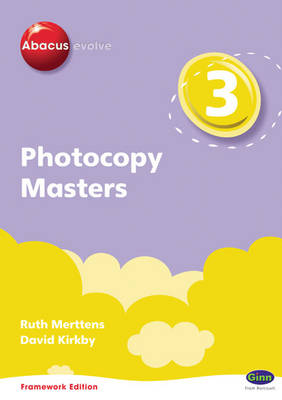 Abacus Evolve Year 3 Photocopy Masters Framework Edition by Ruth, BA, MED Merttens, Dave Kirkby