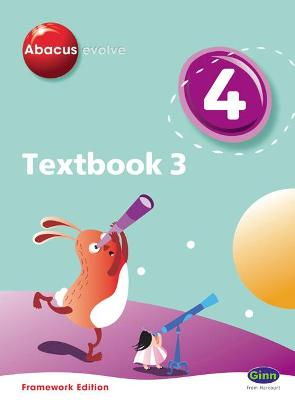Abacus Evolve Year 4/P5 Textbook 3 Framework Edition by Ruth, BA, MED Merttens