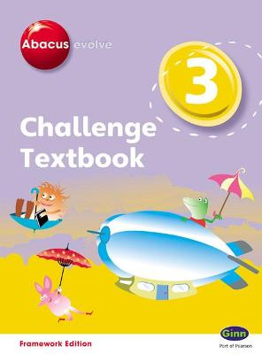 Abacus Evolve Challenge Year 3 Textbook by Adrian Pinel, Jeni Pinel