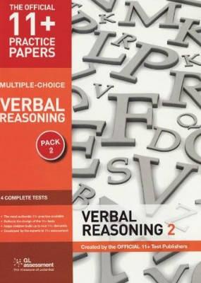 11+ Practice Papers, Verbal Reasoning Pack 2 (Multiple Choice) VR Test 5, VR Test 6, VR Test 7, VR Test 8 by GL Assessment