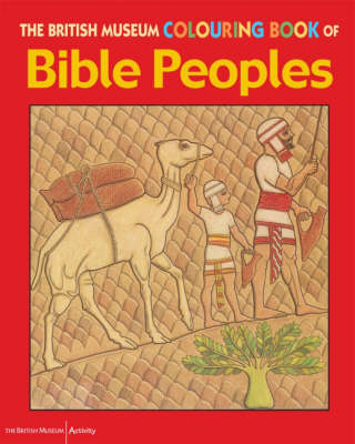 British Museum Colouring Book of Bible Peoples by Patricia Hanson