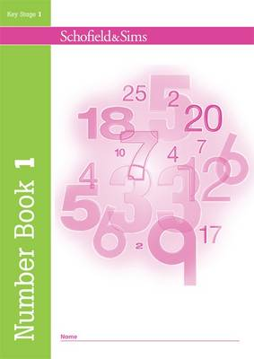 Number Book 1 by Andrew Parker, Jane Stamford